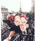 картина по номерам Розы в париже