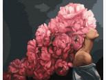 BRM35277 Картина по цифрам Розовые мысли. Эми Джадд