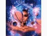 KH9538 Картина раскраска Обладательница вселенной Идейка