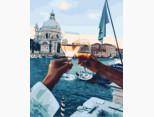 BK-GX21611 Раскраска по номерам Свидание в Венеции