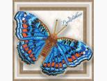 Бабочка из бисера вышивка на пластиковой основе Прецис Октавия (BGP019)