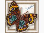 Бабочка из бисера вышивка на пластиковой основе Прецис Лавиния (BGP046)