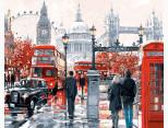 VP441 Картина по номерам Очарование лондона Babylon