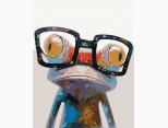 BK-GX9344 Картина раскраска Умный лягушонок