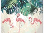 Три фламинго