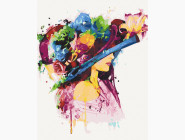 Портреты и знаменитости: раскраски без коробки Цвет женственности
