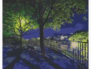 Природа и пейзаж: картины без коробки Ночной парк