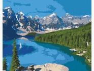 Природа и пейзаж: картины без коробки Озеро Марейн, Канада