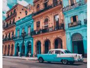 Машины, космос, самолеты: картины без коробки Яркая Куба