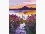 Природа и пейзаж: картины без коробки Озеро Атитлан. Гватемала