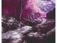 Природа и пейзаж: картины без коробки Фантастический лес
