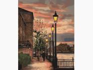 Городской пейзаж Набережная Темзы