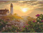 Природа и пейзаж: картины без коробки Маяк в Портленде. США