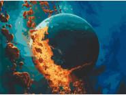 Машины, космос, самолеты: картины без коробки Взрыв Фаэтона