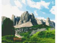Природа и пейзаж: картины без коробки Доломитовые Альпы