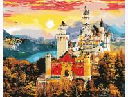 Города мира и Украины: картины без коробки Осенний замок