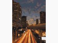 Города мира и Украины: картины без коробки Ночной Бангкок