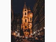 Города мира и Украины: картины без коробки Собор Св. Николая. Прага