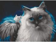 Коты и собаки: картины без коробки Интересная дружба