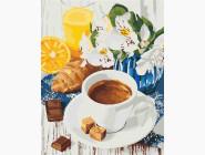Раскраски для кухни Сладкое утро
