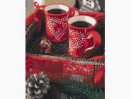 Раскраски для кухни Рождественская кофе