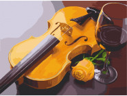 Раскраски для кухни Романтическое трио