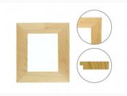 Аксессуары Багетная рама Модерн плоская клеенная (15 х 55 мм) для картин 40 х 50 см