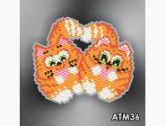 Алмазная вышивка Бабочки и магниты Коты неразлучники