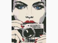 Люди, портреты Девушка с фотоаппаратом