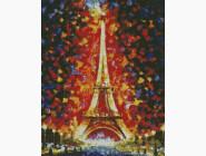 Города мира Эйфелева башня в огнях