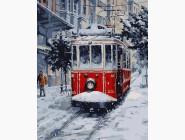 Заснеженный трамвай