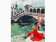 Портреты, люди на картинах по номерам Праздник в Венеции