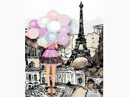 Портреты, люди на картинах по номерам Краски Парижа