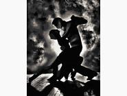 Романтика, любовь Страстный танец