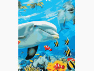 Животные и рыбки Улыбка дельфина