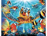 Животные и рыбки Улыбка черепахи