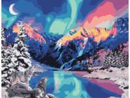 Пейзаж и природа Северное сияние