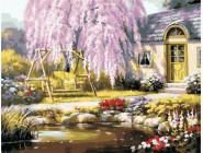 Городской пейзаж Уютный дом