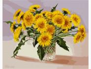 Цветы, натюрморты, букеты Букет одуванчиков