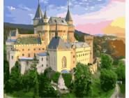 Городской пейзаж Замок в Словакии