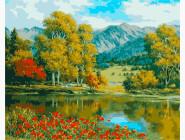 Пейзаж и природа Яркая осень