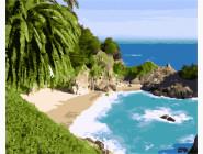 Море, морской пейзаж, корабли Тропический остров