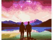 Романтика, любовь Северная ночь