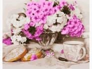 Цветы, натюрморты, букеты Нежное утро