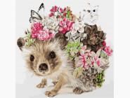 Животные: картины без коробки Ёжик
