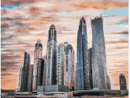 Городской пейзаж Арабские Эмираты