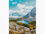 Новинки алмазной вышивки Озеро в горах