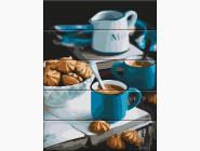 Картины по номерам для кухни Уютное утро
