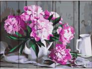 Цветы, натюрморты, букеты Торжественные пионы