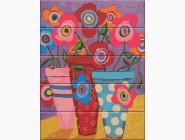 Цветы, натюрморты, букеты Разноцветные цветы